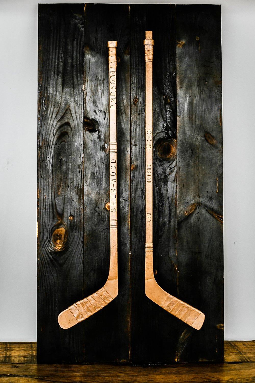 Custom Metal Work In Collingwood Hockey Stick Door
