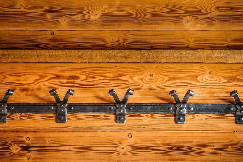 custom-hand-forged-metal-coat-hooks-in-mud-room-british-columbia