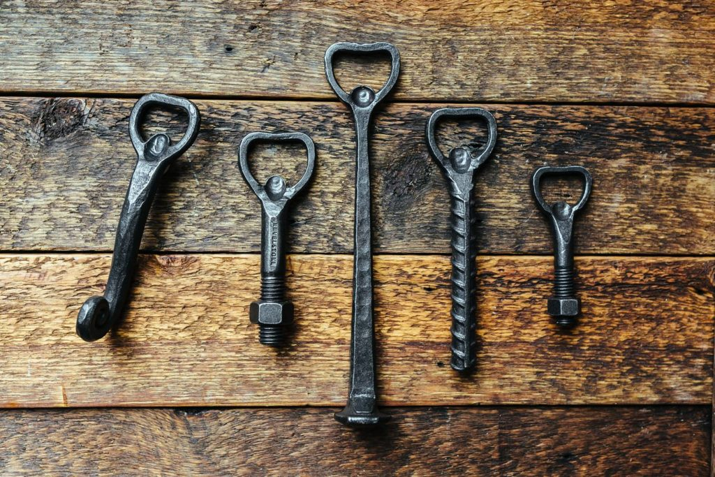 hand-forged-bottle-openers-made-from-old-nails-railroad-spikes